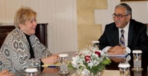 Turkish Cypriot president, UN envoy discuss Cyprus