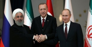 Turkish president sets off for Syria summit in Sochi