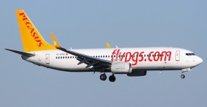 Pegasus Airlines Achieved a Turnover of 8.3 Billion Turkish Lira in 2018