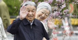 Japanese monarchs mark 60th marriage...