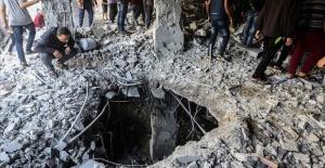 Israel strikes 320 sites in blockaded Gaza Strip