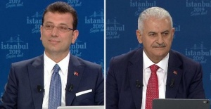 Ekrem Imamoglu and Binali Yildirim candidates spar in Istanbul mayoral race debate