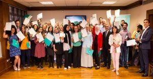 Yunus Emre Institute in London celebrated finishing the 2018-2019 academic year