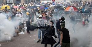 Hong Kong police arrest 12 protesters