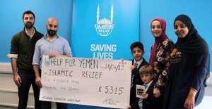 Nine year old London Turkish boy raises...