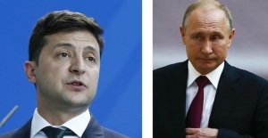 Putin, Ukrainian counterpart hold phone talk