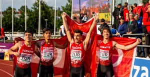 Turkey win gold medal in Euro athletics...