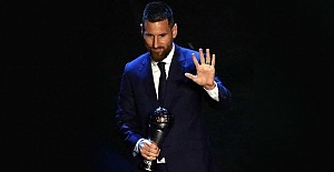 Lionel Messi wins Best FIFA Men#039;s...