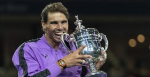 Nadal wins US Open men's final against Medvedev