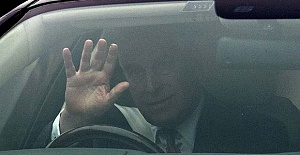 Prince Andrew seen for first time since...