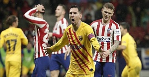 Barcelona beat Atletico, La Liga sees tense title race