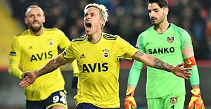 Football: Gaziantep FK 0-2 Fenerbahce