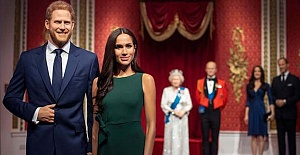 Meghan Markle and Prince Harry waxworks...