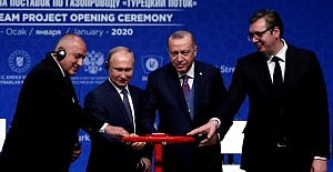 Russian media hails launch of TurkStream