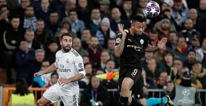 Champions League: Man City stun Real...