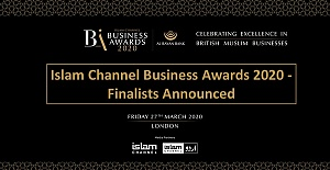 Islam Channel Business Awards 2020 - Finalists Announced