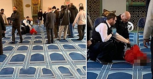 Knifeman 'runs into Regent's Park mosque and stabs man doing call to prayer in neck'