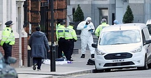 London shooting: Knifeman shot dead...