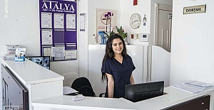 The Atalya clinic in the city of Antalya...