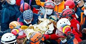 Turkey: 3-year-old girl rescued 65...