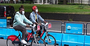 Significant increase in walking and cycling since the pandemic started
