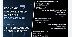 Economic Outlook and Help Available Zoom Webinar
