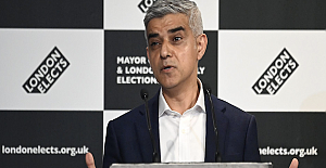 Sadiq Khan says he is humbled by his re-election...