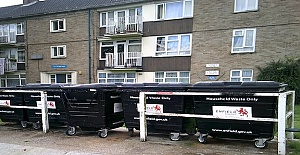 Investment in housing estates improves environment for Enfield Council residents