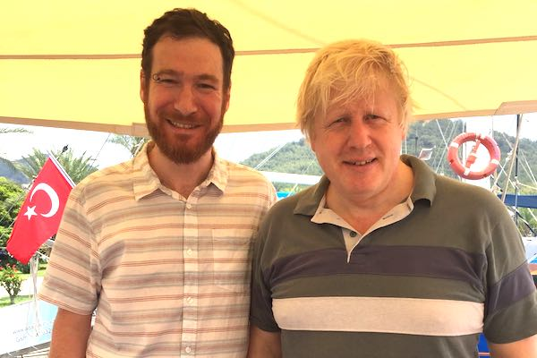 Boris Johnson and his family visited Turkey for their summer holiday