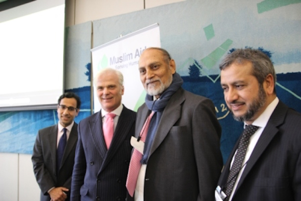 Rehman Chisti MP and Rt Hon Desmond Swayne MP praise Muslim Aid's work