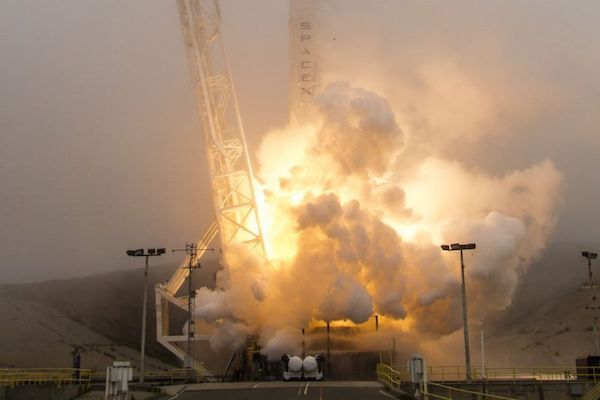 SpaceX just launched its 14th orbital rocket