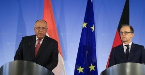 German, Egyptian FMs discuss ties, regional issues
