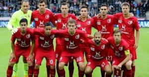 Russia's Rubin Kazan banned 1 year from Europe