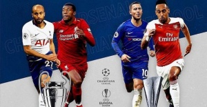 English clubs' final showdown in top UEFA cups