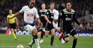 Football,  Ajax beat Tottenham in Champions League match