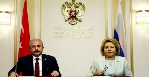 Russian, Turkish head of parliaments meet in Moscow