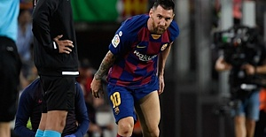 Argentine superstar Messi's injury shocks Barcelona