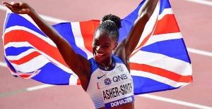 Dina Asher-Smith wins gold at World Athletics Championships