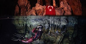 Turkish diver Sahika Ercumen breaks world record