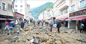 Latest, Floods kill 4 in Turkey's Black Sea region, Turkey's Authority AFAD announced