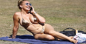 What a British Summer, The Big Brother star Aisleyne Horgan Wallace sets pulses racing, Wallace in swimsuit
