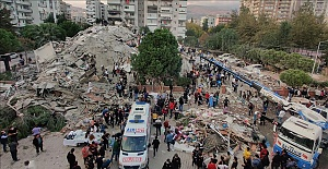 At least six people were killed and 202 others injured when a magnitude 6.6 earthquake jolted the city of Izmir