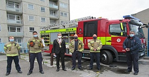 London Fire Brigade firefighters undertake crucial operational training in high-rise building