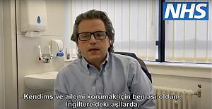 North Middlesex University Hospital Turkish doctor, Dr Muhiddin Ozkor says to the Turkish community : Covid-19 vaccine is safe against coronavirus