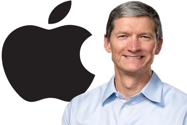 Apple CEO's Tim Cook 2013 pay steady but sees part of stock award shrink