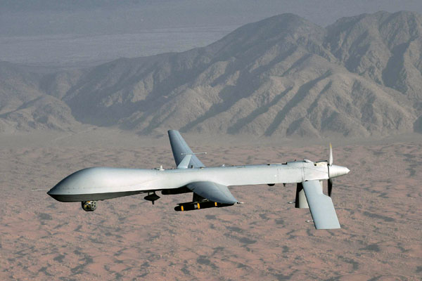 US drone strike kills 3 people in Yemen