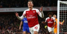 Arsenal 3 Leicester 1: Mesut Ozil masterclass inspires Gunners to win against Foxes