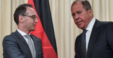 Russian, German foreign ministers meet in Moscow