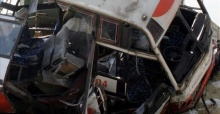 Over 20 killed in Cameroon bus crash