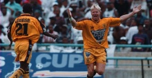 Former soccer star shot in South Africa